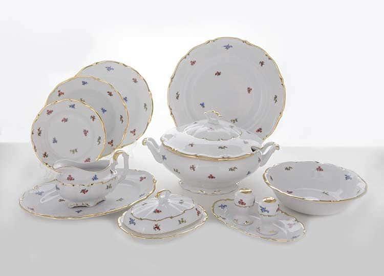 Блумен Столовый сервиз на 6 перс. 25 пред. Bavarian Porcelain