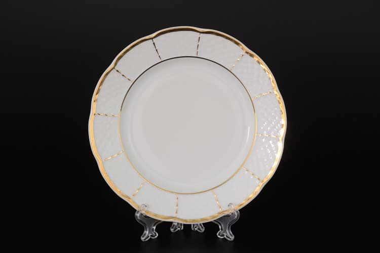 Менуэт Обводка золото Набор тарелок 17 см (6 шт) Thun