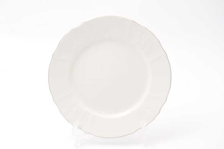 Бернадотт Отводка платина 311021 Набор тарелок 25 см