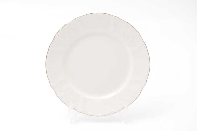 Бернадотт Отводка платина 311021 Набор тарелок 19 см