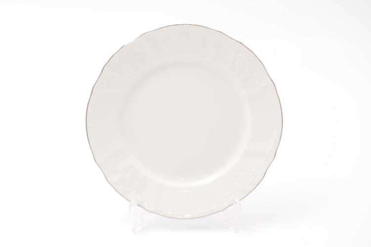 Бернадотт Отводка платина 311021 Набор тарелок 17 см