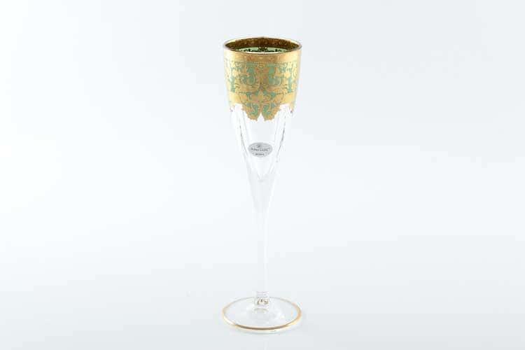 Natalia Golden Turquoise D. Набор фужеров для шампанского 170 мл Astra Gold (6 шт)