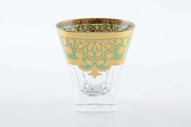 Natalia Golden Turquoise D. Набор стаканов для виски 270 мл Astra Gold (6 шт)
