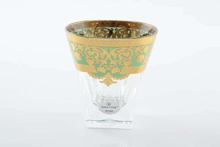 Natalia Golden Turquoise D. Набор стаканов для виски 200 мл Astra Gold (6 шт)