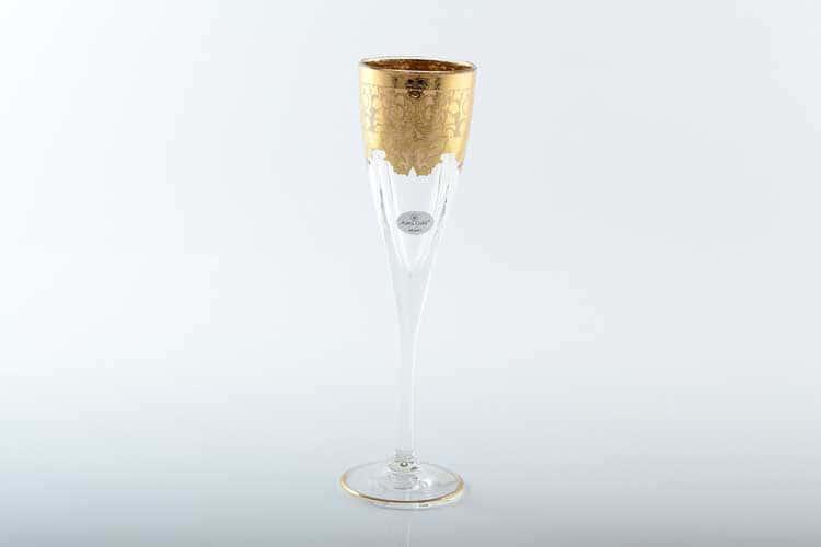 Natalia Golden Ivory Decor Набор фужеров для шампанского 170 мл Astra Gold (6 шт)