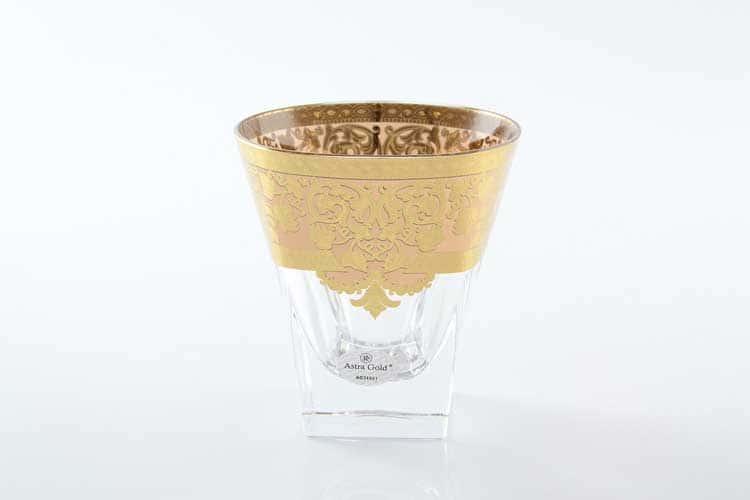 Natalia Golden Ivory Decor Набор стаканов для виски 270 мл Astra Gold (6 шт)