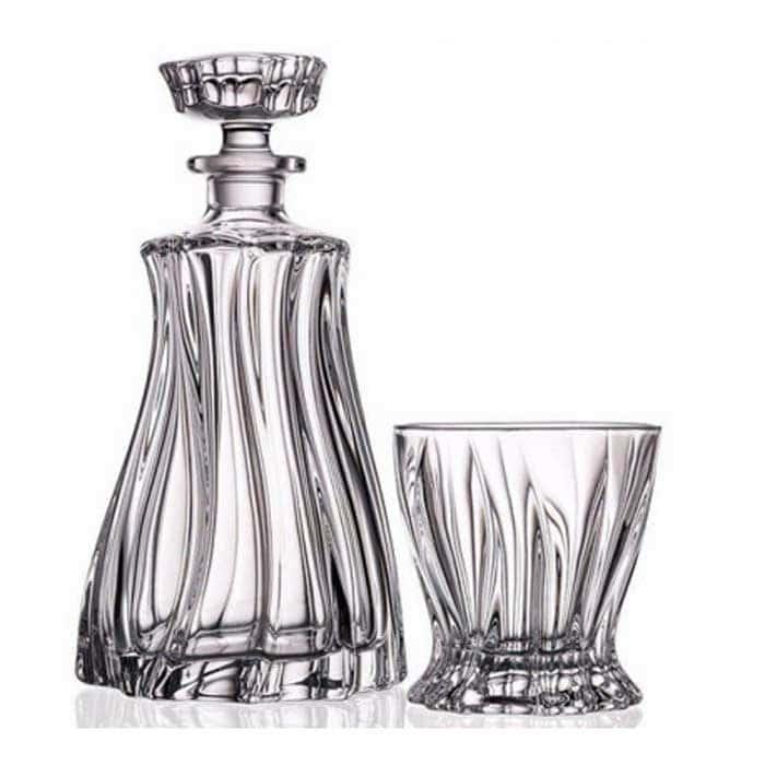 PLANTICA Набор для виски 7 предмета Aurum Crystal