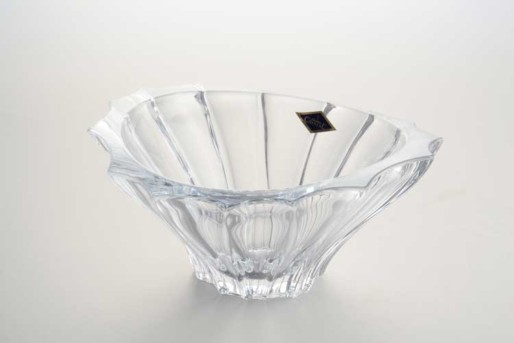 PLANTICA Конфетница 22 см Aurum Crystal