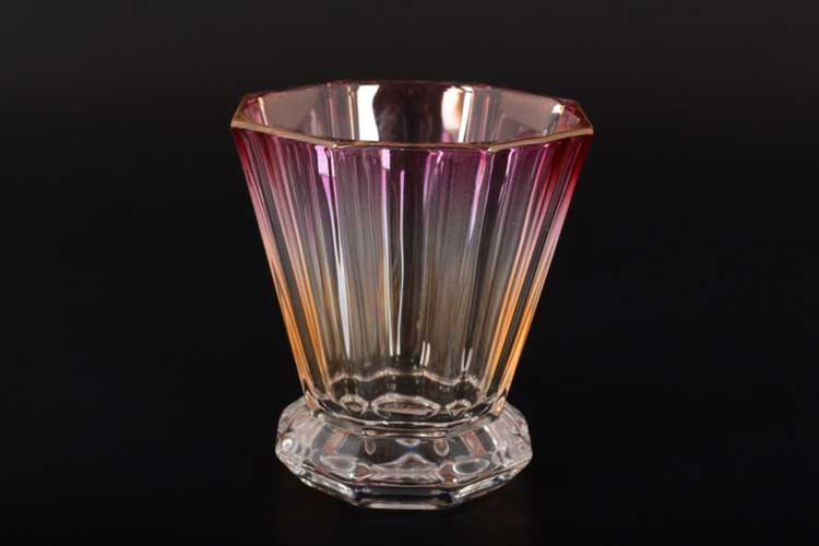 Набор стаканов 320 мл 6 шт Gold Crystal красные