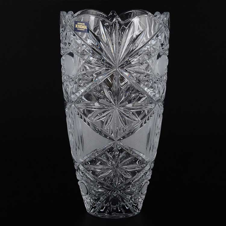 TUCANA Ваза для цветов 25 см Crystalite Bohemia