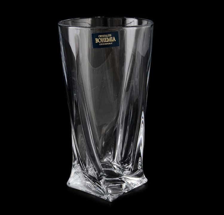 QUADRO Набор стаканов для воды Crystalite 350 мл (6 шт)