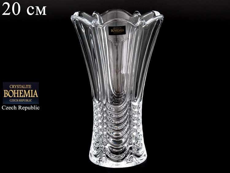 ORION Х Ваза для цветов Crystalite Bohemia 20 см