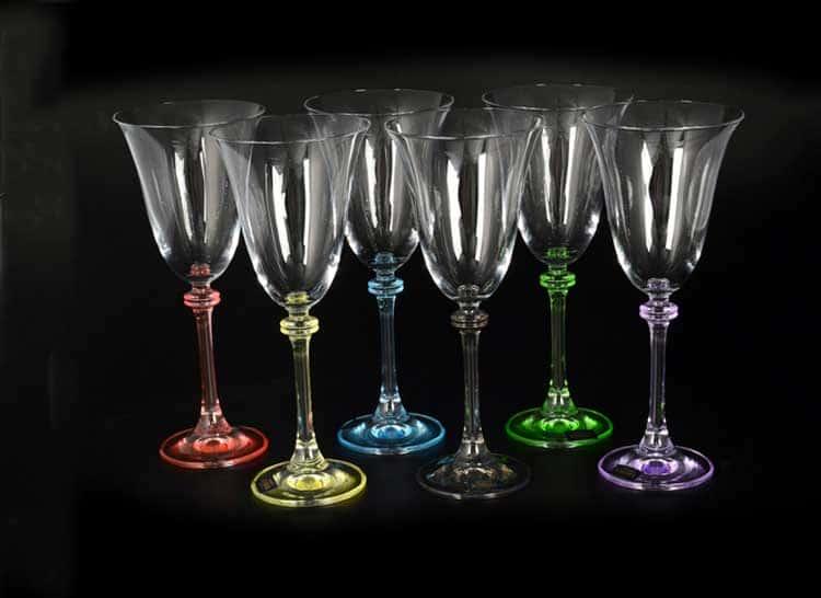 ASIO/ALEXANDRA Арлекино Набор бокалов для вина 250 мл (6 шт)