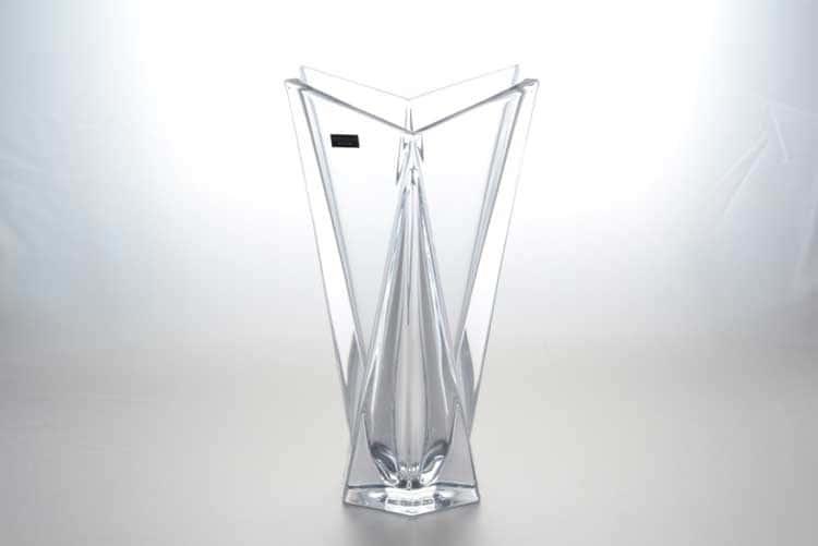 ORIGAMI Ваза для цветов 32 см Crystalite Bohemia