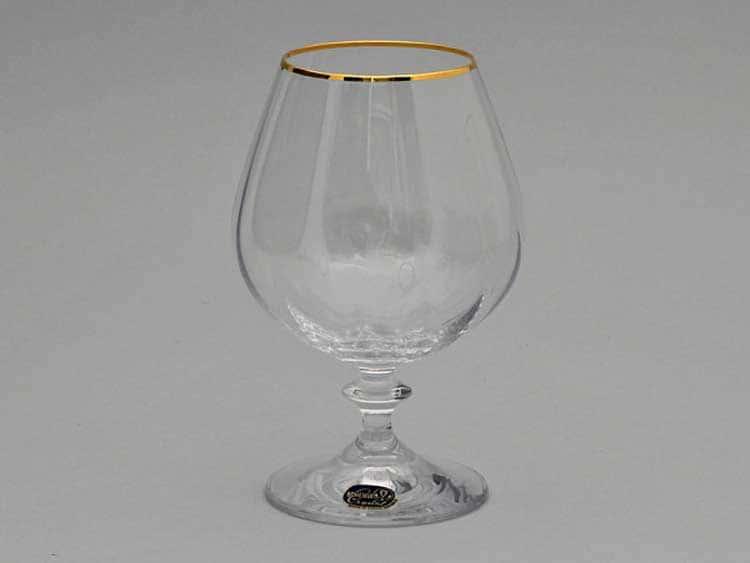 Кристалекс золото Набор бокалов для бренди 400 мл Bohemia Crystal