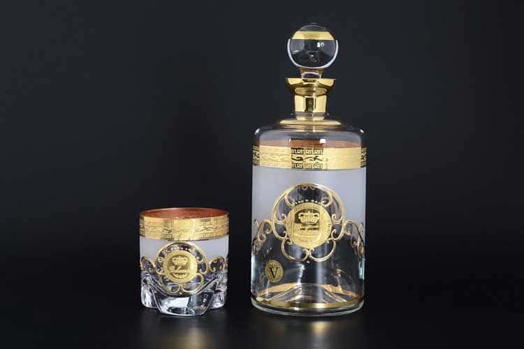 Трио Версаче Богемия A-M Набор для виски 7 предметов