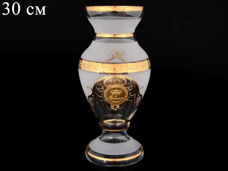 Версаче Богемия А-М Цветочница на ножке 30 см