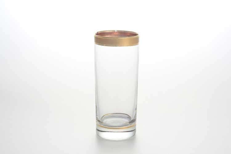 Матовая полоса А-М королевский Набор стаканов для воды Atelier Marie 300 мл