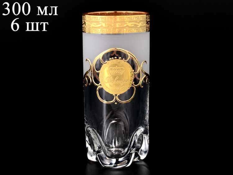 Трио Версаче Богемия A-M Набор стаканов для воды 300 мл (6 шт)