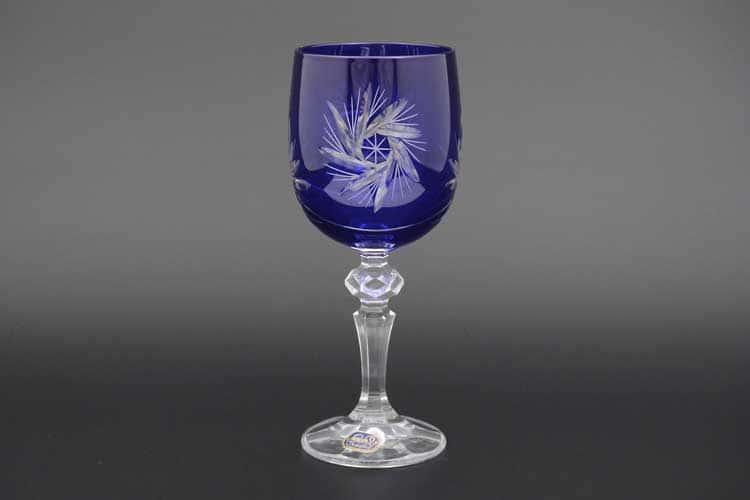 Мирел 40149 Набор бокалов для вина 220 мл синий (6 шт)