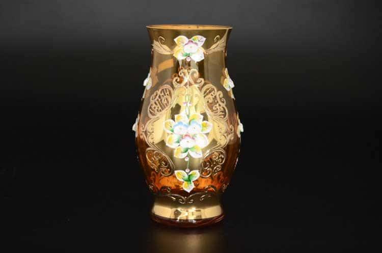Лепка янтарная E-V Ваза для цветов 22 см