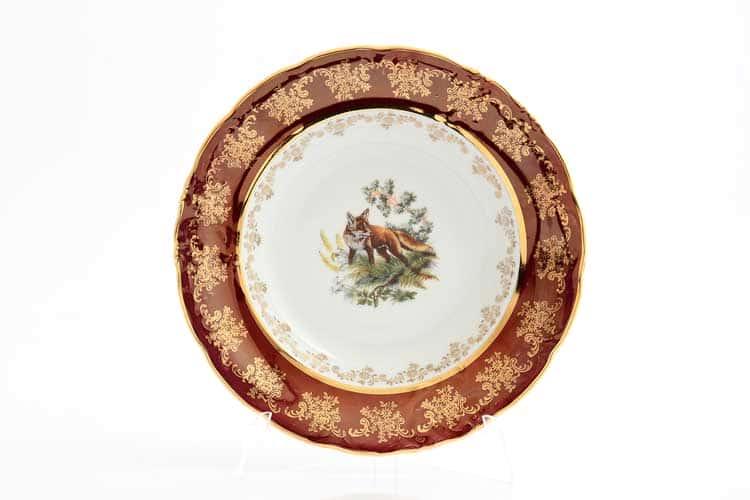 Фредерика Красная охота Набор тарелок 23 см (6 шт) Moravec