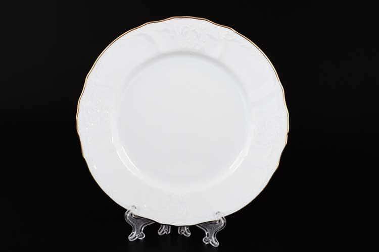 Белый узор Е-М Набор Набор тарелок 19 см Jeremy