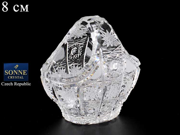 Sonne Crystal Корзина 8 см из хрусталя
