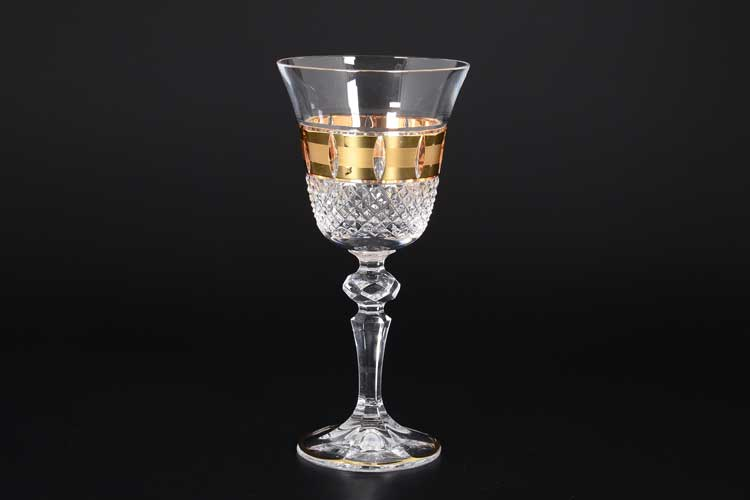Felicia Матовая Набор бокалов для вина 170 мл CRYSTAL HEART (6 шт)