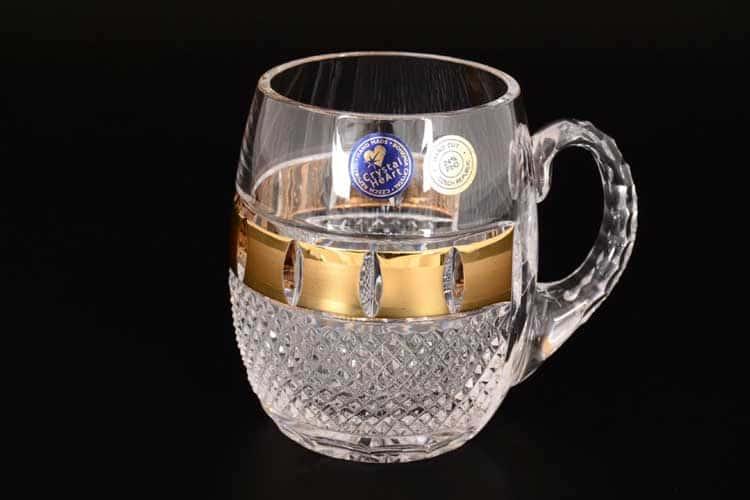Фелиция Золотые окошки Пивная кружка 600 мл CRYSTAL HEART