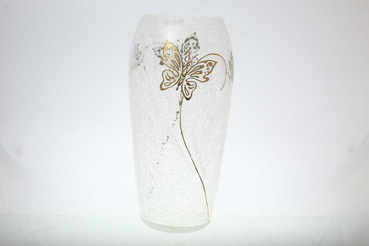 Егерманн бабочки белая Цветочница 40 см
