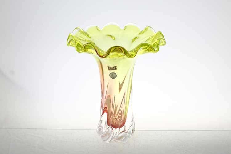 Егерманн салатовая Ваза для цветов 30 см