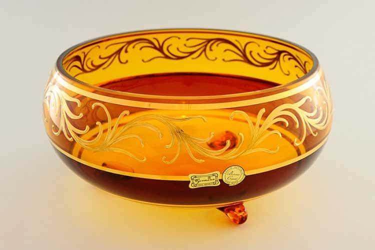 Егерманн узор медовая Ваза для конфет 25 см