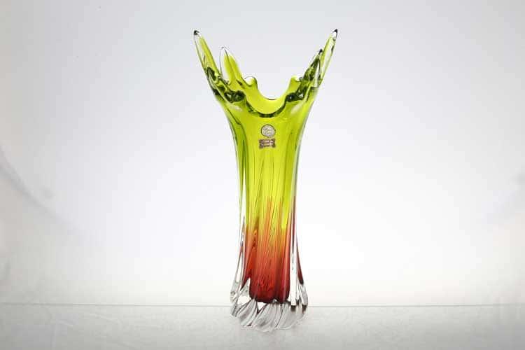 Егерманн медово-зеленая Ваза для цветов 40 см