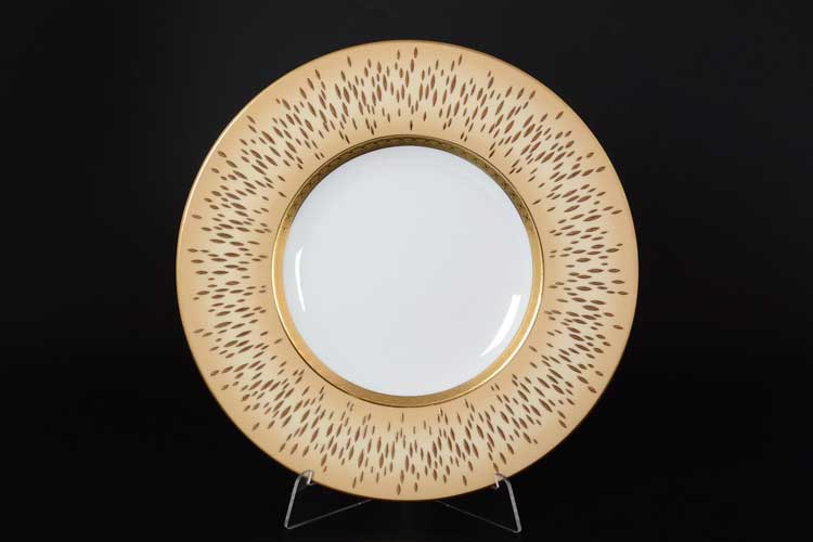 RIALTO CREME GOLD Набор тарелок 27 см Falkenporzellan