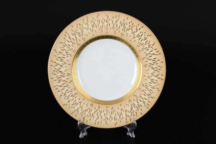 RIALTO CREME GOLD Набор тарелок 21 см Falkenporzellan