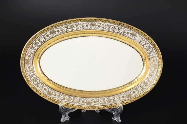 Royal Gold CREAM Блюдо овальное 24 см Falken