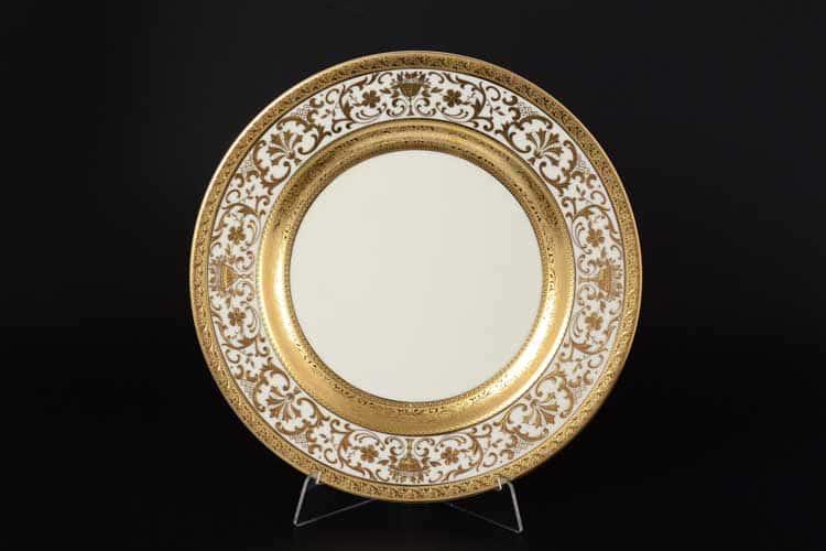 Royal Gold CREAM Блюдо круглое 32 см Falken