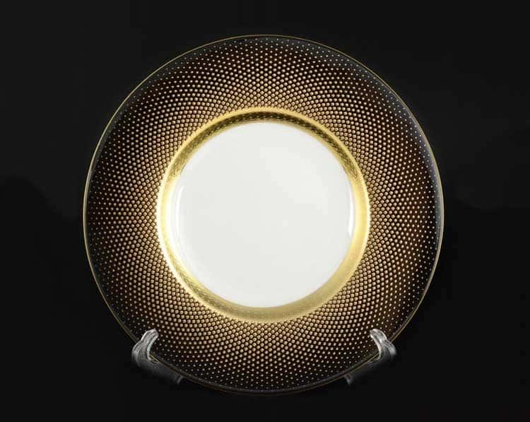Rio black gold Набор тарелок FalkenPorzellan 29 см (6 шт) 48901