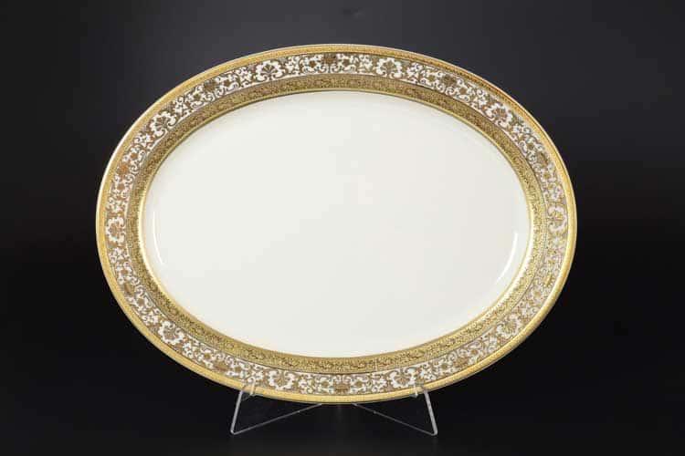 Royal Gold CREAM Блюдо овальное 36 см Falken