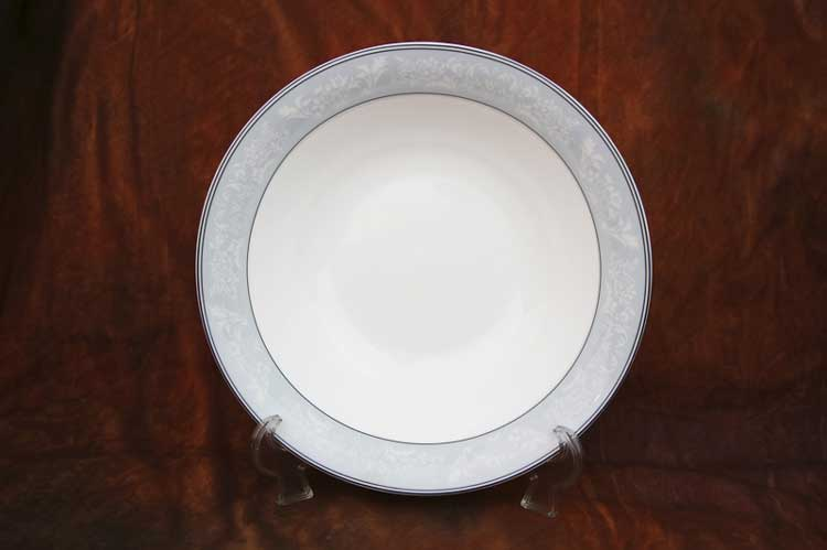Генрих Костяной фарфор АККУ тарелка суповая полупорционная