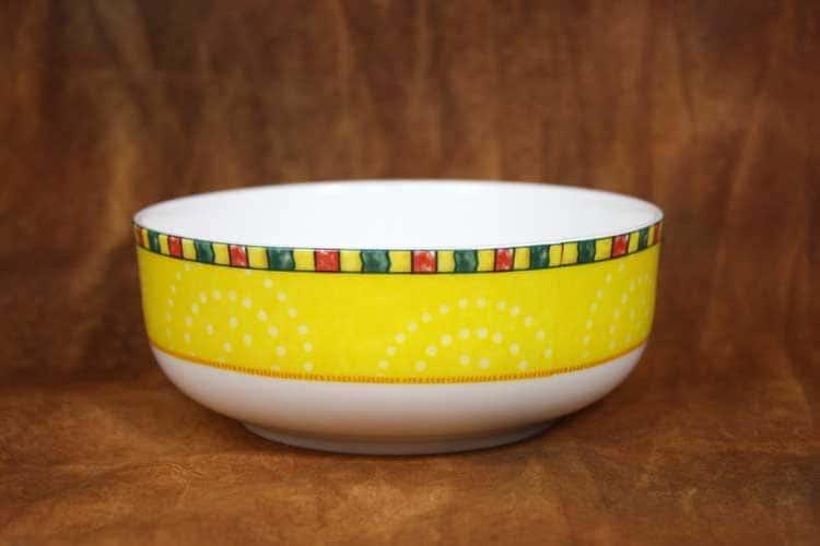 Лето Костяной фарфор АККУ суповая тарелка