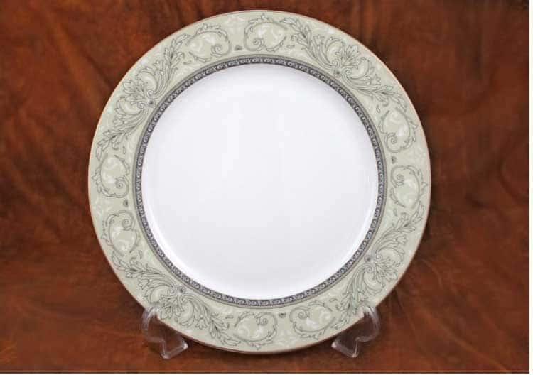 Людовик Костяной фарфор АККУ круглая тарелка 21 см