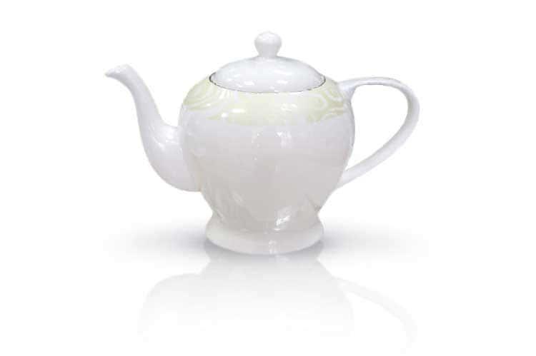 Миллениум Костяной фарфор АККУ чайник 1250 мл