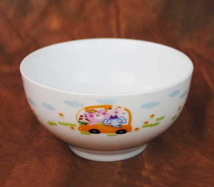 Автобус Детский набор посуды Акку 3 предмета