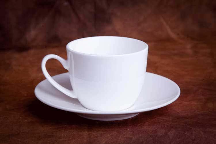 Классика Костяной фарфор АККУ в/с чашка от кофейной пары 150 мл