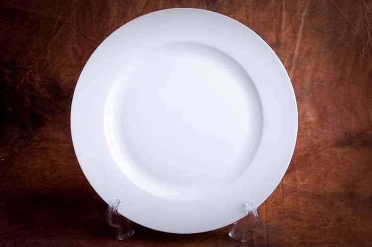 Классика Костяной фарфор АККУ в/с Тарелка круглая 22,5 см