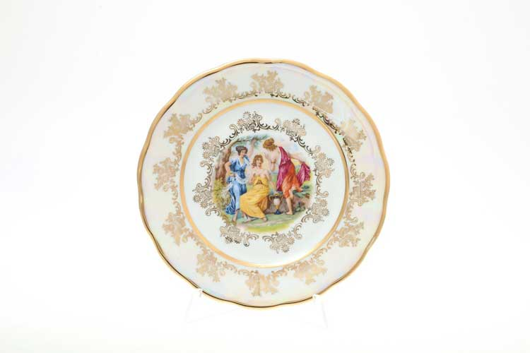 Мадонна Перламутр Набор тарелок 25 см Sterne porcelan