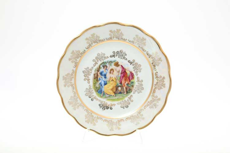 Мадонна Перламутр Набор тарелок 21 см Sterne porcelan