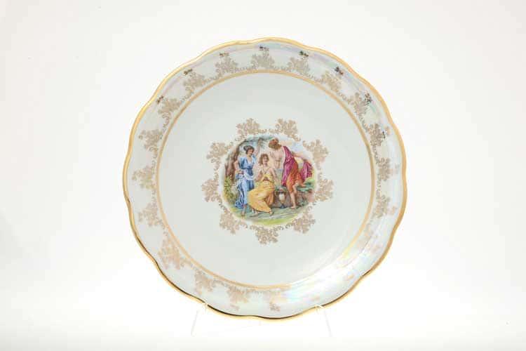 Мадонна Перламутр Блюдо круглое 30 см Sterne porcelan